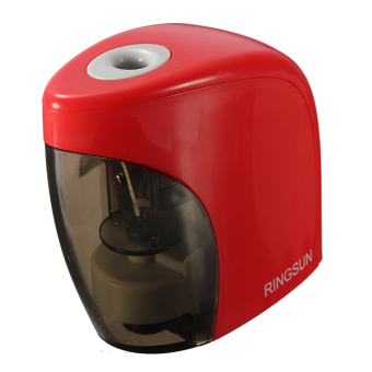 Harga Automatic Electric Touch Switch Pencil Sharpener (Red)