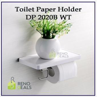 Harga VUMN Toilet Tissue Paper Holder DP-2020B-WT | 3 Functions in 1