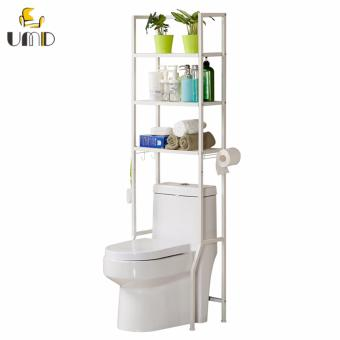 Harga Anti-rust Multi-Functional Toilet Organizer Storage Rack (Model: 485 )