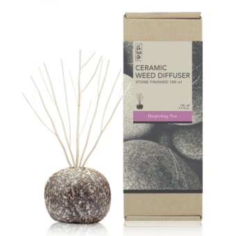 Harga Stone Ceramic Reed Diffuser 100ml - Darjeeling Tea