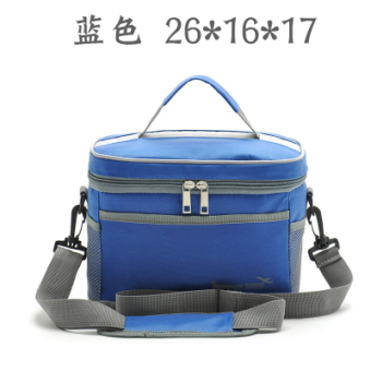 Harga Strap style large waterproof oxford fabric lunch bag lunch box cooler bag lunch bag medical cold breast milk ice pack