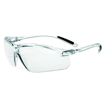 (Bundle of 10) Honeywell A700 Clear Frame Safety Glasses-Sporty & Stylish