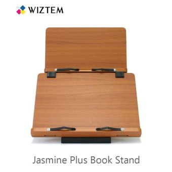 Harga Wiztem Jasmine Plus (Jasmine + Wiz Plus 1)Book Stand/Promotes Proper Posture For Better Spinal Health/Eye -Level Reading - intl