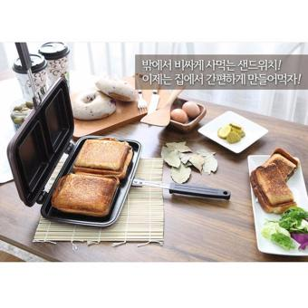 Harga Mom's Honey Pan Korean Best-Selling Sandwich Maker with 2 holes - intl