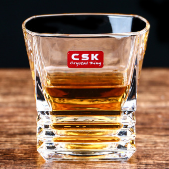 Harga Levin Reese CSK crystal glass whiskey spirits cup wine cup creative beer cup tea cup square cup