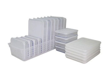 Harga Silicook Tray + 20 Pieces of Subdivision Flat Food Container for Storage in Refrigerator(Fridge). Total Set.