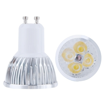 Harga 12W GU10 LED Spot Lights Lamp Bulb Cold White 85-265V (White)