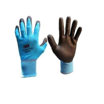 Harga 3M™ Comfort Grip Gloves - Sky Blue 200E Large