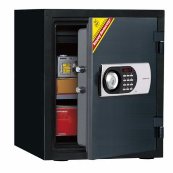 Diplomat Safe 125E Electronic Fire Safe(Black)