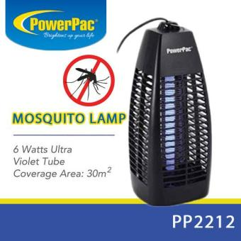 Harga PowerPac PP2212 Insect Repellent 6W Mosquito Killer Area 30msq