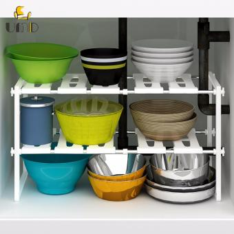 Harga Anti-rust kitchen drain rack2-Tier/Multifunctional Storage Rack