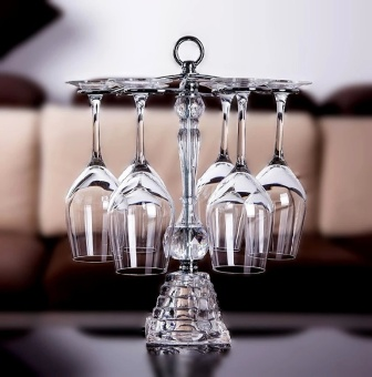 Harga Lead-free crystal glass of red wine set wine tall wine glass wine cup holder upside down home grape wine cup