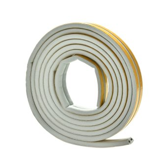 Harga Buytra 5M E/D/I-type Foam Draught Self Adhesive Window Door Excluder Rubber Seal Tape Grey D