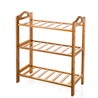 Harga Home home multi-assembled shoe rack dust shoes storage rack simple bamboo shoe bamboo shoes rack shelving rack