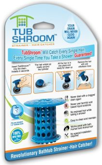 Lifine TubShroom Hair Catcher, Strainer for Bath Tub: A Revolution in Drain Protection - Int'l