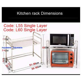 Harga Kitchen Rack L55 Single Layer