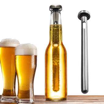 Harga Xcellent Global Set 2 Stainless Steel Beer Botol Chiller Chill Sticks - Beer and Beverage Coolers untuk Hari Lahir