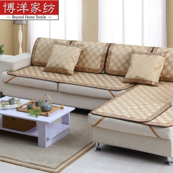 Harga Bo Yang textile home supplies fresh style sofa seat/sofa cushion covers can be combination with new
