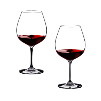 Harga Riedel Vinum Pinot Noir (Burgundy Red) Wine Glass (Set of 2's)
