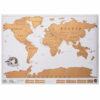 Harga Original Personalized Scratch Map