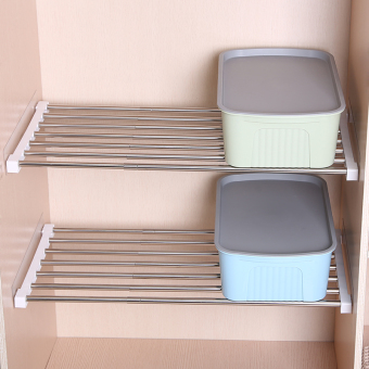 Harga Nail-free adjustable storage shelf