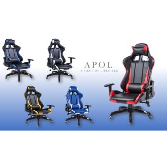 Harga WCG Ergonomic Design Gaming Chair (Red)