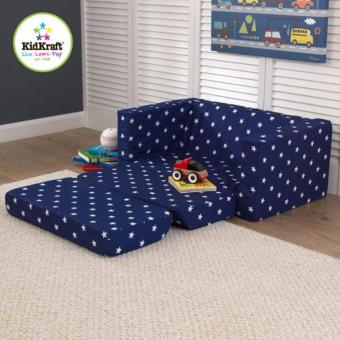 Harga KidKraft Lil' Lounger (Navy with White Stars)