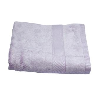 Harga Kenko Exquisite Brady Bamboo Cotton Bath Towel (Lilac)
