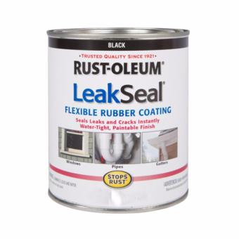 Harga Rust-oleum LeakSeal Flexible Rubber Coating 8oz (Black)