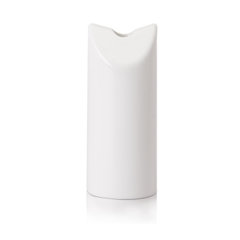 Harga Moderne 12cm Twin Sheer Vase, 1pc (White)