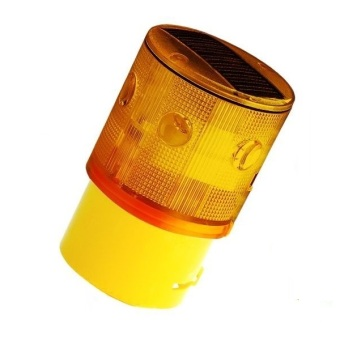 Harga LED soalr warning light,solar traffic warning lightsignal beacon for tower crane,The airport,road construction
