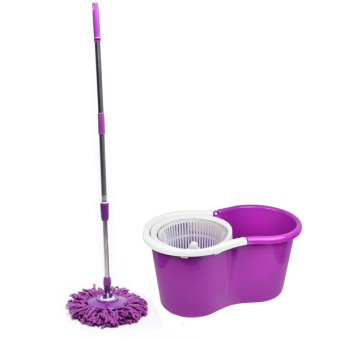 Harga Spin Mop (with 1 Mop Head) - Purple Set C