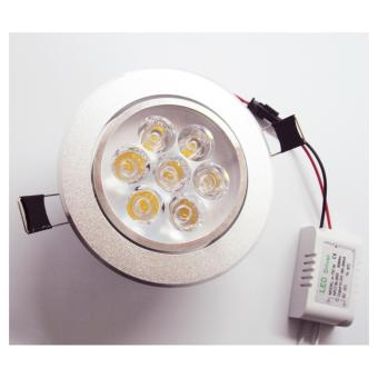Harga 9W LED Downlight Recessed Installation Spot Lamp(Warm White) - intl