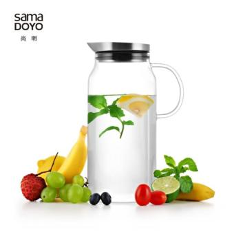 Harga Samadoyo Water Jug S-063 1300 Ml Using For Cold Or Hot Drink With Filter Lid Modern Design.