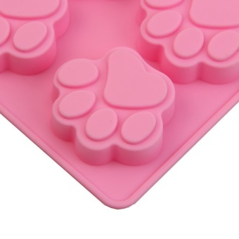 bear Paws cake mould Ice Silicone Mould Cat's paws - intl