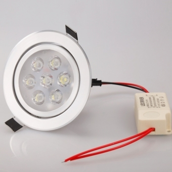 Harga Jo.In 7x7W LED Ceiling lamp Recessed downlight Down Bulb Spot White Light (White) - Intl