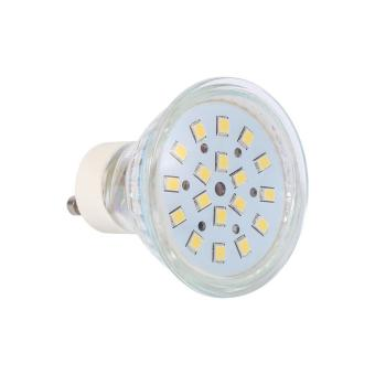 Harga 1Pcs 3W GU10 18Led Light Lamp Bulb Cool White - intl