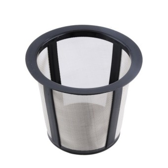Harga Plastic Convenient Reusable K-Cup Coffee Filter Set Grey