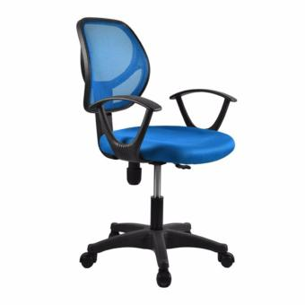 Harga Basic Office Chair Rein S02 blue,delivery-weekdays before 6pm