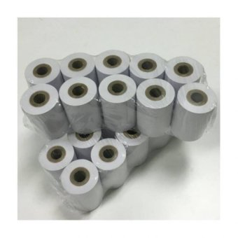 Harga 20 Rolls of Nets / Credit Card Machine Thermal Paper Roll 57 X 40 X 12mm
