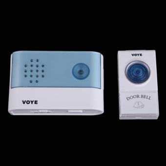 Wireless Doorbell Electronic Music Doorbell VOYE V004A with Indicator
