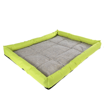 Harga Pets Soft Cooling Bed Cushion (Fluorescent Green)
