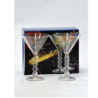 ONE Set of 4 Luminarc Cocktail Glasses