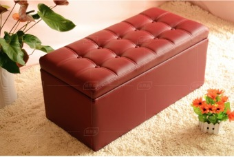 Harga Ottoman Type C Double (Wine Red)