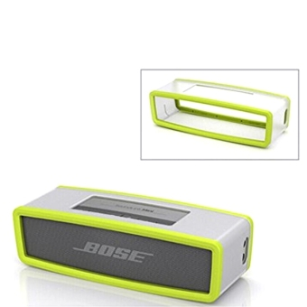 Harga TPU Gel Soft Case Cover Pouch Box for Bose Soundlink Mini Bluetooth Speaker Green (EXPORT)