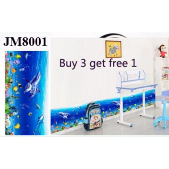 Harga Removable Wall Sticker - Under the Sea (JM8001)