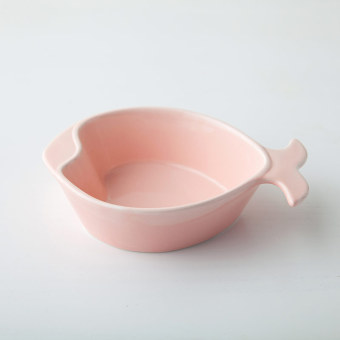 Harga Creative fish dish plate home ceramic snack plate roast bowl pudding Salad Bowl breakfast baking baked rice