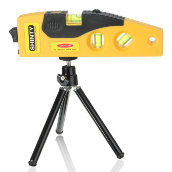 Harga Cross Line Laser Levels Measure Tool With Tripod Rotary Laser Tool Spirit Level - intl