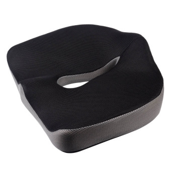 Harga Slow Rebound Memory Foam Seat Cushion for Chair Office Home (Black)