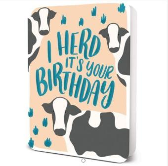 Harga Card Studio Oh! Card - I Herd Its Your Birthday